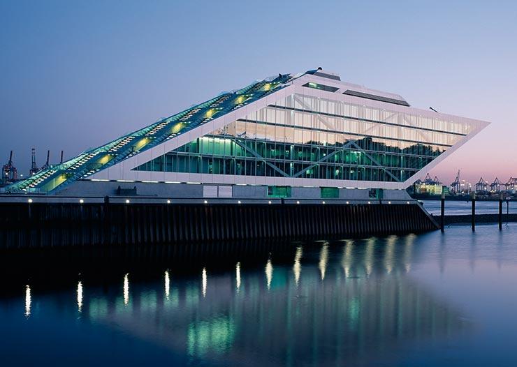 Hafenpark Quartier Frankfurt Hadi Teherani Architetcs Dockland Architektur