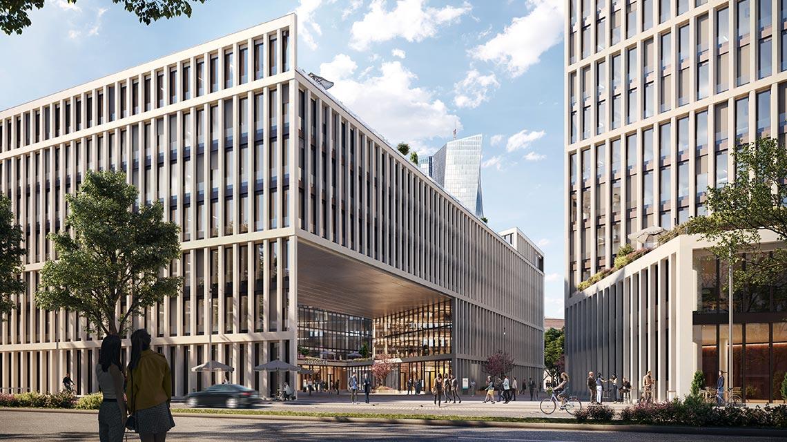 Hafenpark Quartier Frankfurt Office Campus Büro Meixner Schlüter Wendt
