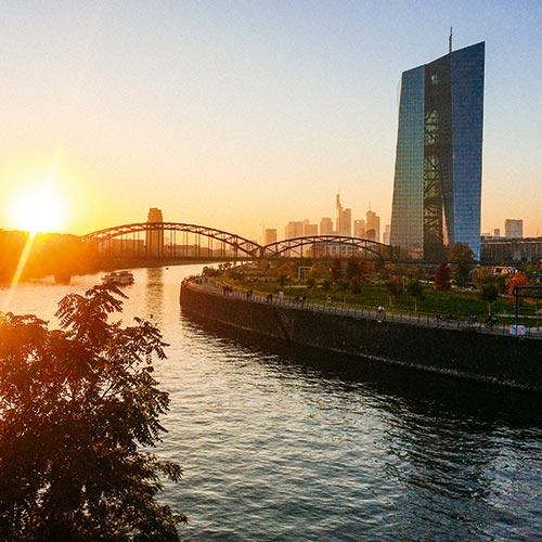 Hafenpark Quartier Frankfurt Wohnen im Ostend