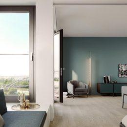 Hafenpark Quartier Frankfurt Living Apartment smart home